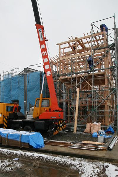 建て方 K house_c0196892_21442968.jpg