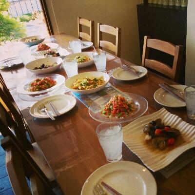 新築パーティーの為の料理教室_a0254053_0412189.jpg
