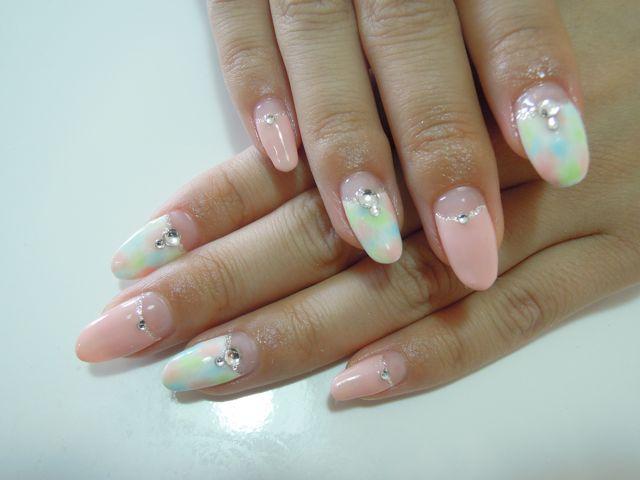 Marble Nail_a0239065_20441478.jpg