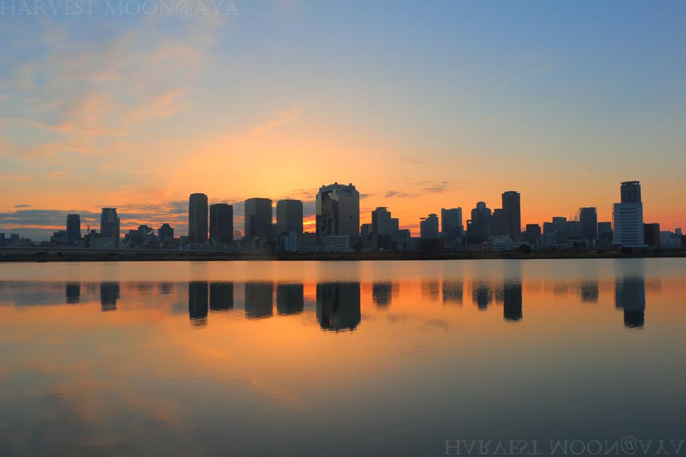 都会の夜明け_b0208495_218592.jpg