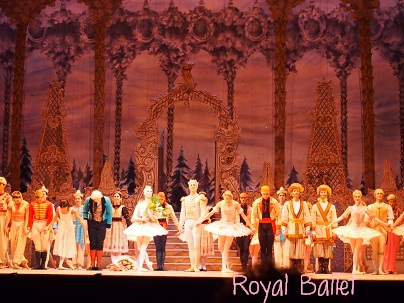 Royal BalletのNutcracker_d0088196_10492696.jpg