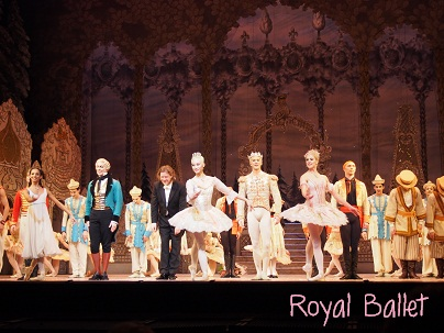 Royal BalletのNutcracker_d0088196_10495567.jpg