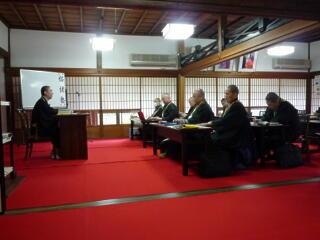 第二期紹継塾9回目の講義を開催_c0170415_940161.jpg
