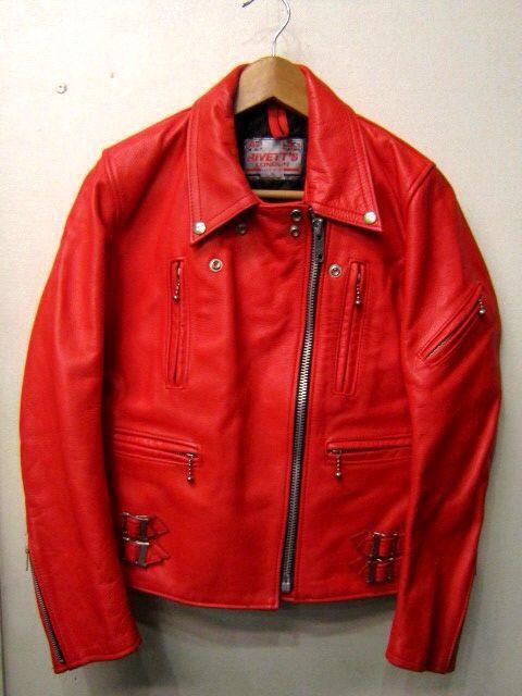 「 VINTAGE UK RIDERS RED/NAVY  & ・・・ 」_c0078333_19384450.jpg