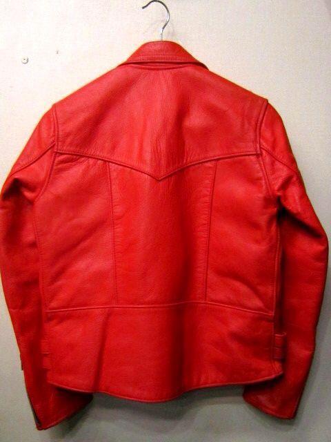 「 VINTAGE UK RIDERS RED/NAVY  & ・・・ 」_c0078333_19384558.jpg