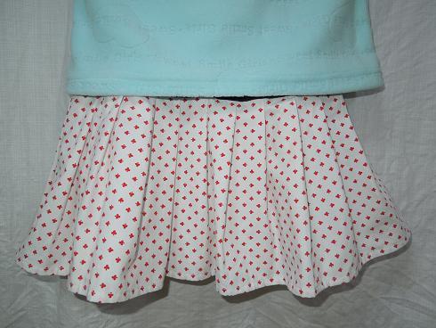 ★リメイク、大好き!EastboyのTシャツとソウルで買ったシャツで、アメリカンな2段スカート(再アップ)_b0135838_16254068.jpg
