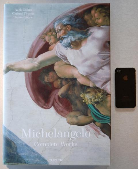 スペインから届いた創造の贈り物『Michilangelo~Complete Works』_a0138976_17364611.jpg