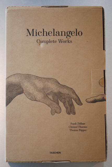 スペインから届いた創造の贈り物『Michilangelo~Complete Works』_a0138976_173746.jpg