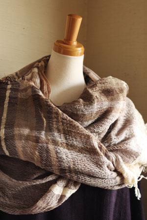 shawl (tamaki niime)_c0118809_21255951.jpg
