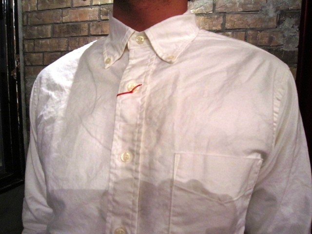 "SERO (セロ) ""SUPIMA COTTON OXFORD B/D SHIRTS\"" ご紹介_f0191324_8413795.jpg"