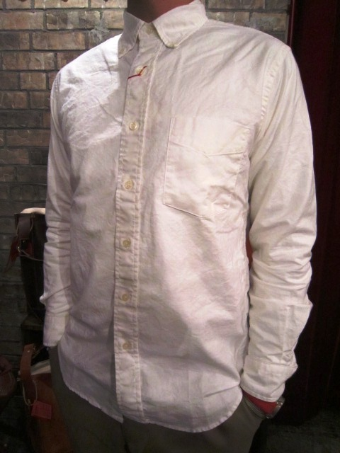 "SERO (セロ) ""SUPIMA COTTON OXFORD B/D SHIRTS\"" ご紹介_f0191324_8414181.jpg"