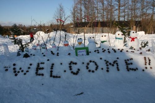 今年最後の雪だるまコンテスト_b0174425_13494339.jpg