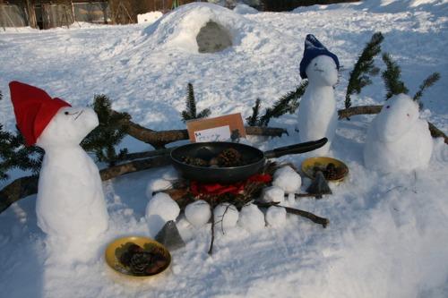 今年最後の雪だるまコンテスト_b0174425_13544717.jpg