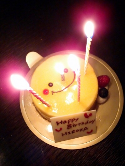 Happy Birthday with Happy Smile♪_a0231828_2347127.jpg