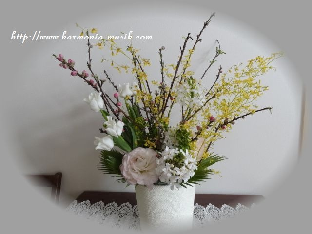 thanks お花_d0165645_211236100.jpg