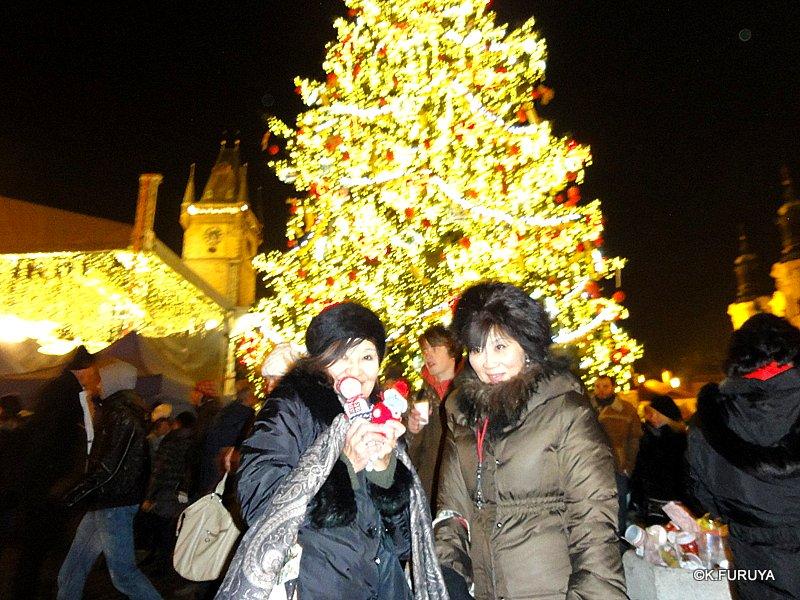プラハ 14 旧市街広場のクリスマスマーケット_a0092659_22332412.jpg