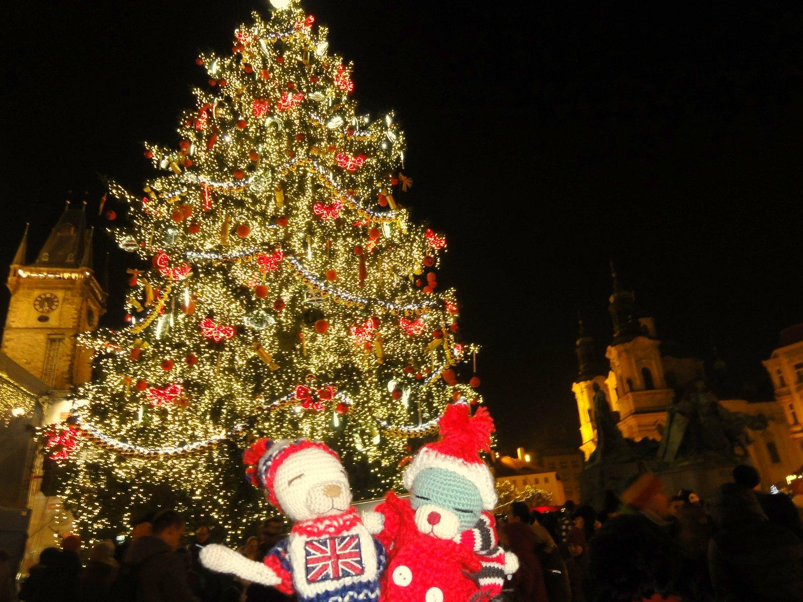 プラハ 14 旧市街広場のクリスマスマーケット_a0092659_22385634.jpg