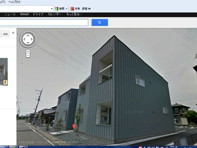 Google street view で見る乙庭植栽 ^^_f0191870_1154284.jpg