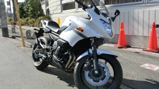 XJ6 Diversionデビュー!&ファースト・インプレッション_e0093380_9124434.jpg