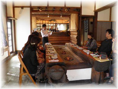 第29回 ITOビジネスランチ会 ~梅ヶ枝山荘さんにて~_c0218303_1610251.jpg