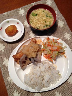 2月の3週目の給食♡_b0188106_1358179.jpg