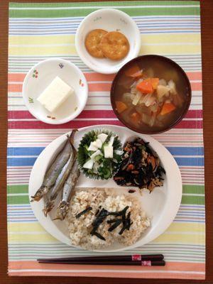2月の3週目の給食♡_b0188106_1358592.jpg