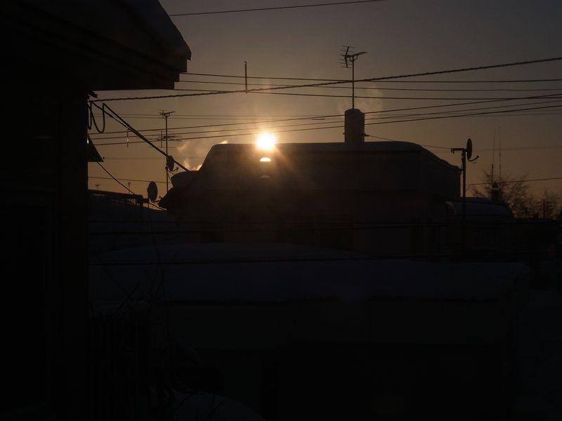 北大前期二次試験の朝_c0025115_18583213.jpg