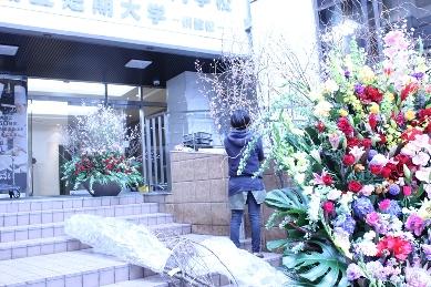 イベント装花(冬の学園祭)_d0125644_12435762.jpg
