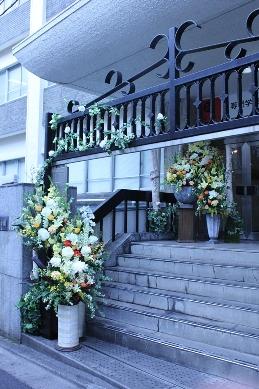 イベント装花(冬の学園祭)_d0125644_12461570.jpg