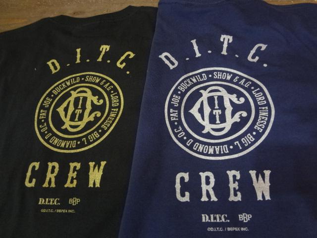 """D.I.T.C. x BBP \""""The Crew\""""_a0221253_19364046.jpg"""