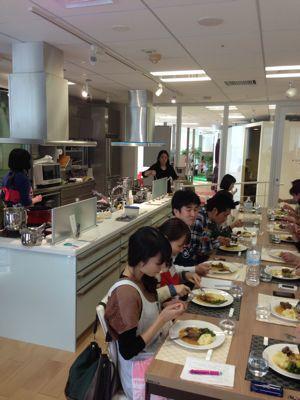 クリナップ大阪ショールームでの料理教室終わりました_f0134268_14233272.jpg