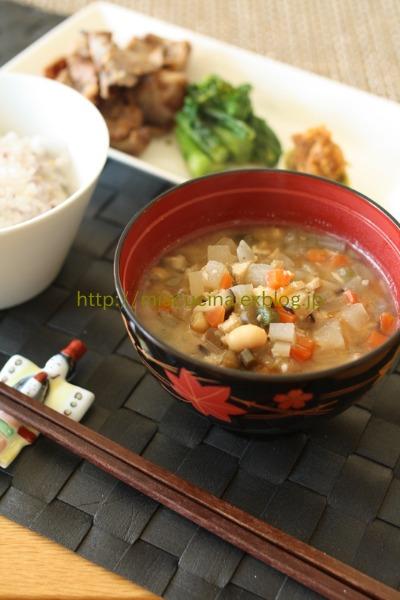 味噌作りレッスンと青森の郷土料理 けの汁_b0107003_10534241.jpg