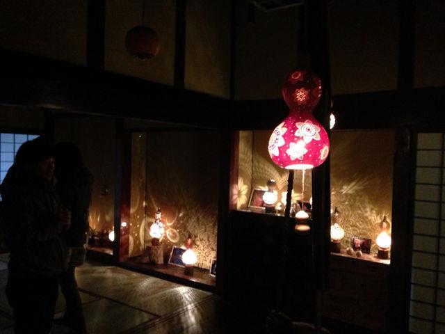 妖艶な灯り  瓢展_e0115904_339347.jpg