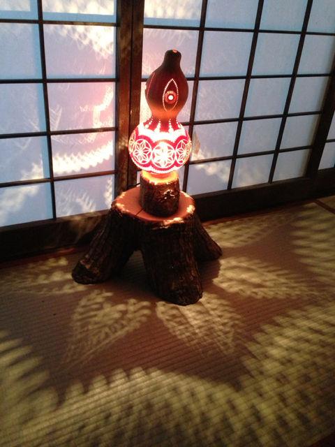 妖艶な灯り  瓢展_e0115904_3452549.jpg