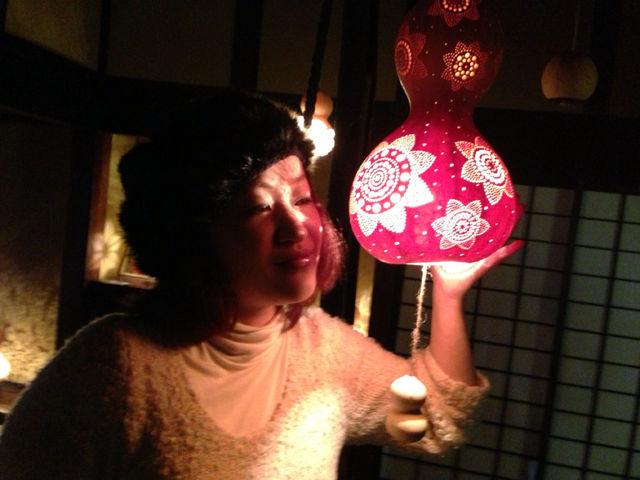 妖艶な灯り  瓢展_e0115904_3595934.jpg