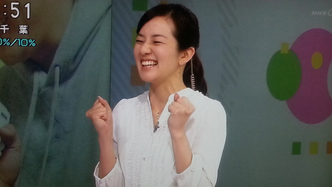 オーバーリアクション NHKおはよう日本 まちかど情報室_b0042308_2310197.jpg
