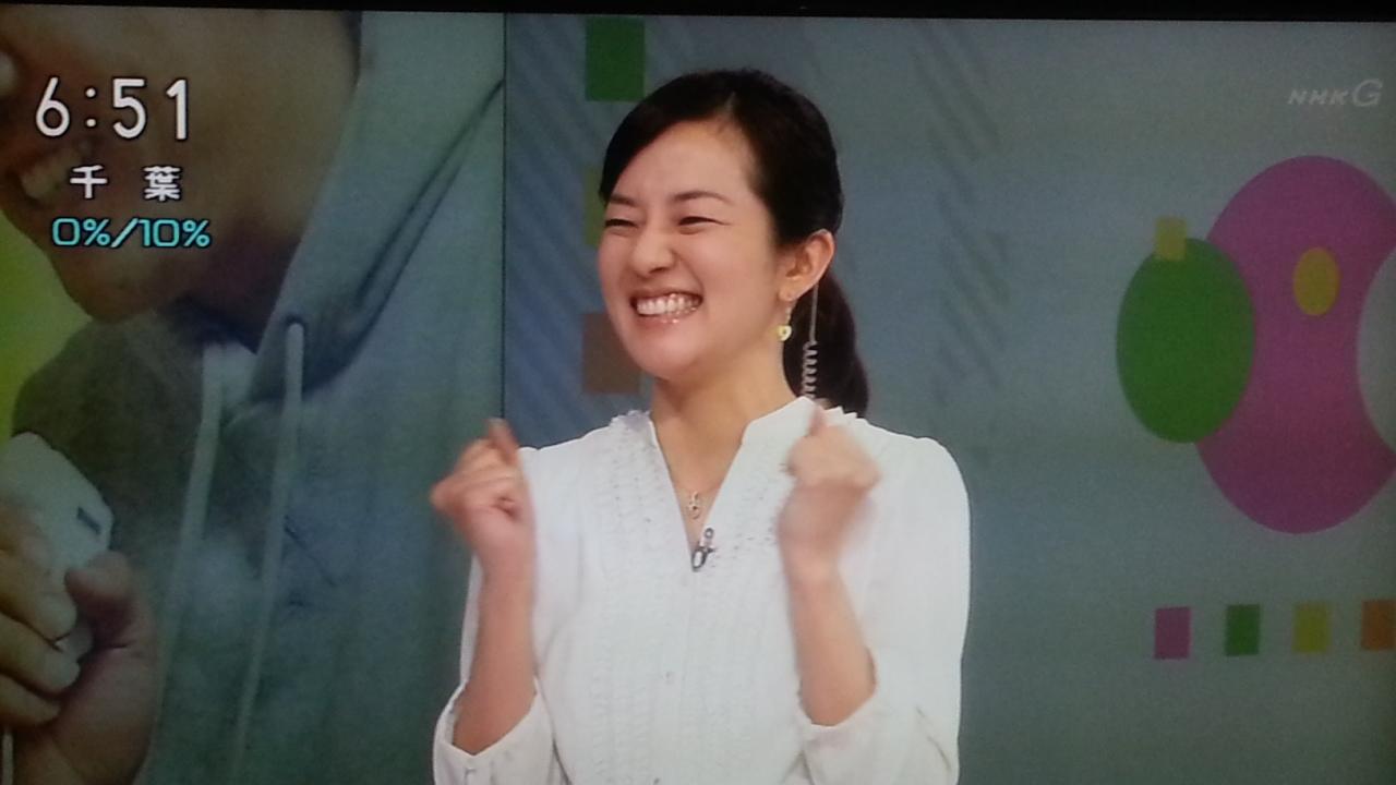 オーバーリアクション NHKおはよう日本 まちかど情報室_b0042308_23142045.jpg