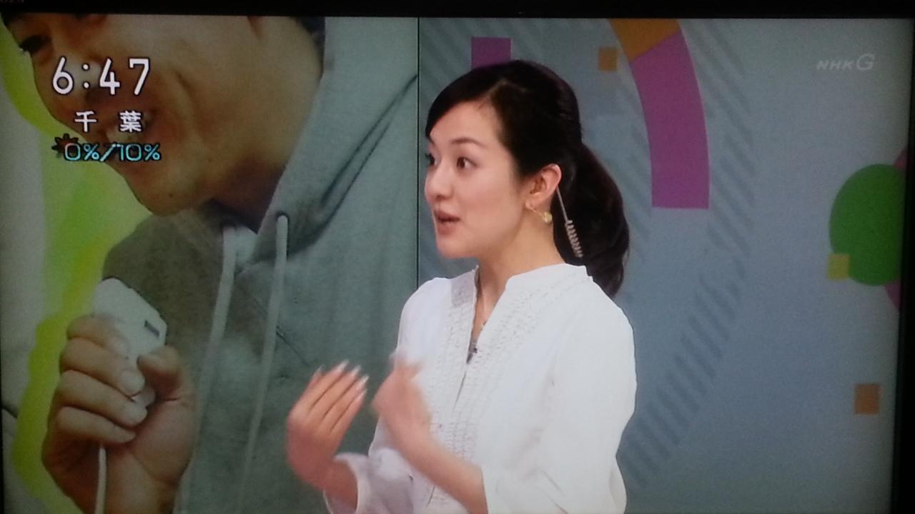 オーバーリアクション NHKおはよう日本 まちかど情報室_b0042308_2335237.jpg