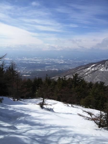 黒斑山スノーハイク_c0177814_18252930.jpg