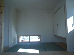 広丘原新田の住宅 ~タタミコーナー_e0180332_19513327.jpg