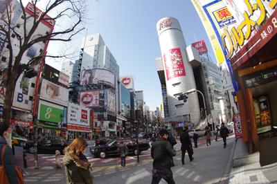 2月26日(火)の渋谷109前交差点_b0056983_20114146.jpg