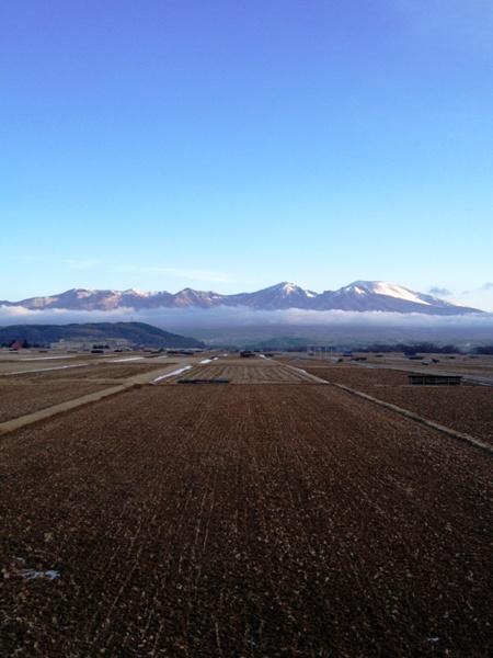 浅科から眺める浅間山_c0177814_18215840.jpg