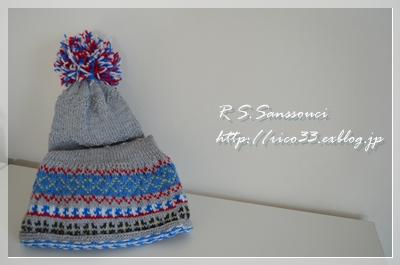 エストニア風 帽子マフラー_d0222715_231440100.jpg
