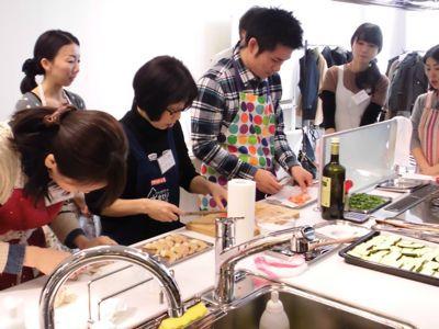 クリナップ大阪ショールームでの料理教室終わりました_f0134268_19403748.jpg