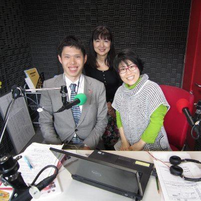 FMはつかいちで、ラジオ初出演無事終了!緑の党を大いに語る!_e0094315_16334616.jpg
