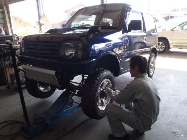 展示車ジムニー製作してます(#^.^#)_c0213517_13352023.jpg