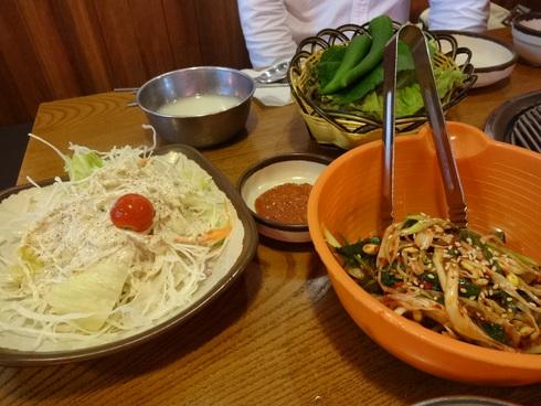 8月 ソウル旅行 その1 「出発&2PMの焼肉屋さん♪ホバク食堂♪」_f0054260_18522114.jpg