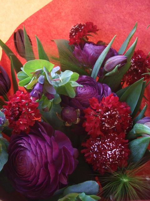オークリーフ(赤×紫)_f0049672_17123140.jpg