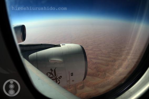 ドバイ〜砂漠を抜けて_c0229485_1291747.jpg