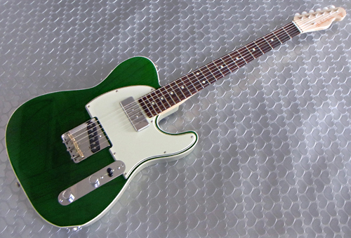 「See-through GreenのStandard-T 3本目」が完成〜!_e0053731_18383741.jpg